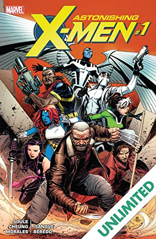 Astonishing X-Men (2017-) #1